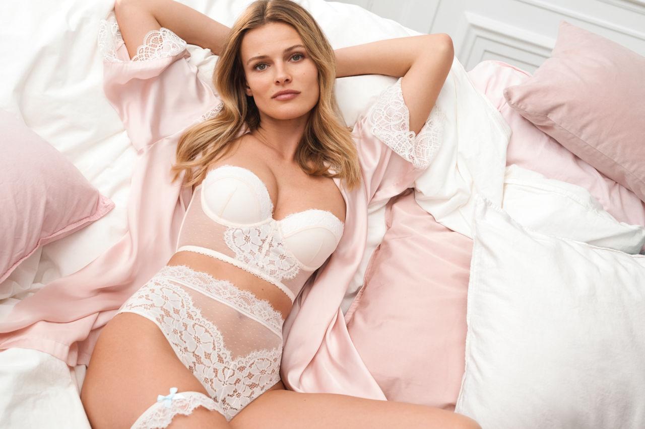 H&M propone vestidos y complementos para novias. Foto: H&M